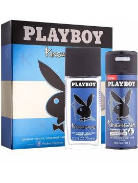 Playboy King Of The Game Set 2 pz edt