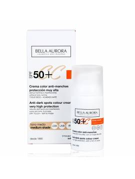Bella Aurora Crema Color Anti-Manchas SPF 50+