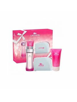 Lacoste TOUCH OF PINK edt Lote 3 pz