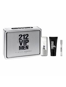 Carolina Herrera 212 VIP MEN edt Lote 3 pz