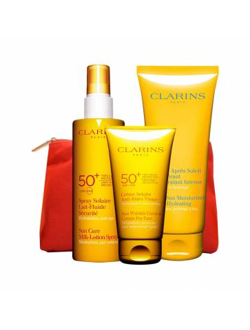 Clarins Sun protection essential pack